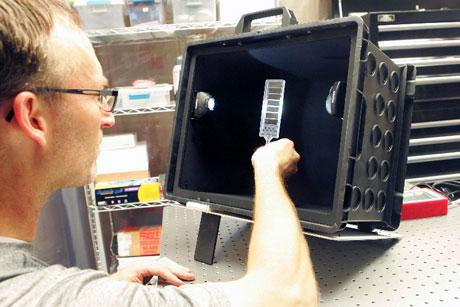 Light Box Portable Optical Inspection Tool Clark